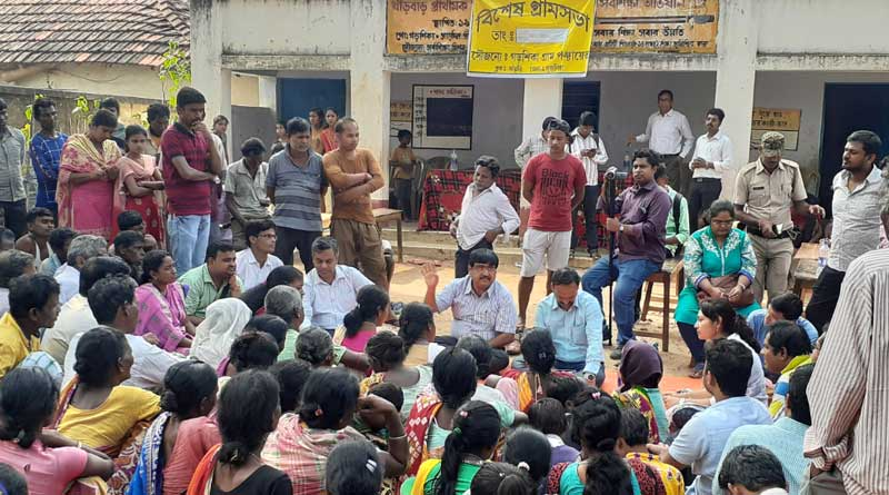 DM in Purulia communicates with Tribal people in Santahali language