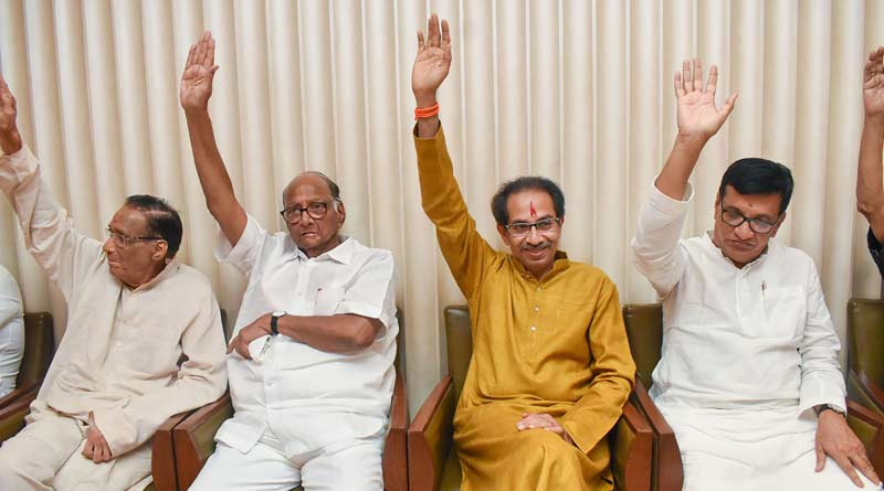 Sena's veiled attack on BJP as Uddhav Thackeray visits Ayodhya
