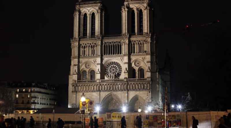 Famous Notre Dame Cathedral stays dark for first time in 200 years