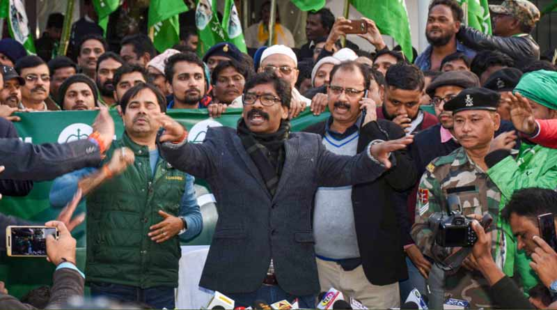Jharkhand Election Results: Opposition wins in the state,BJP steps back