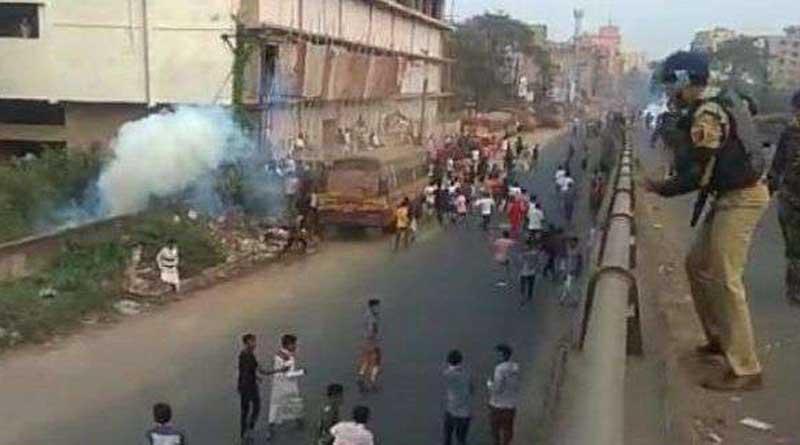 last night policeman injured in sankrail, 6 accused arrested