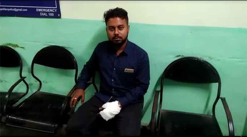 ABVP-TMCP clashes in Uttarbanga University, injured 10.