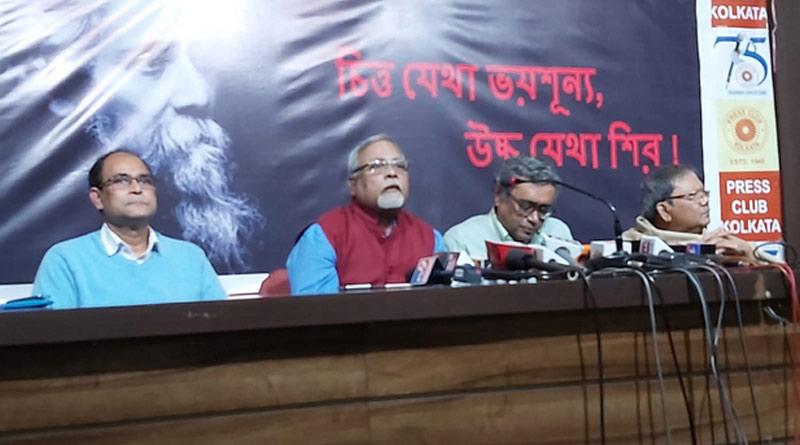 Swapan Dasgupta accuesed TMC & Mamata for Vishwa Bharati incident