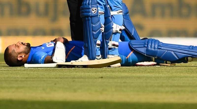 Dhawan-Injury