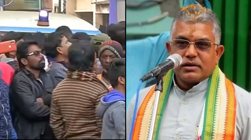 FIR filed against Dilip Ghosh for obstructing ambulance