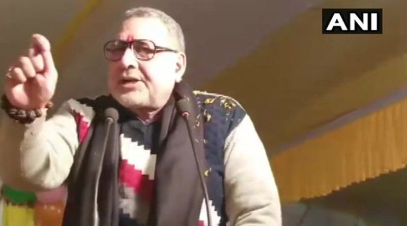 Indians go abroad and eat beef': Giriraj Singh laments loss of 'culture