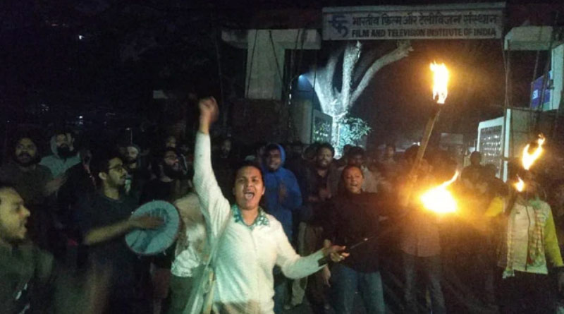 'No hostel fee we will give', announces JNU Students Union