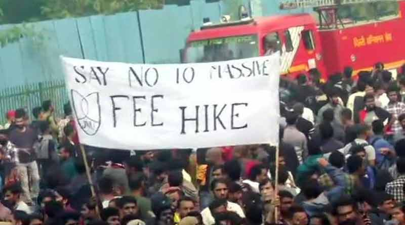 UGC will bear the expenses of JNU hostel fees for the wintre semestar