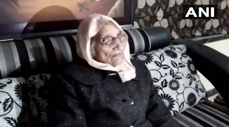 Old lady from Rajasthan