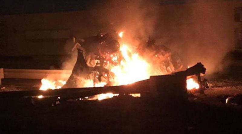 US strike'' killed top Iran, Iraq commanders at Baghdad airport