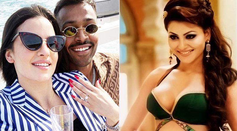 Actress Urvashi Rautela opens up on Ex-Hardik Pandya's engagement