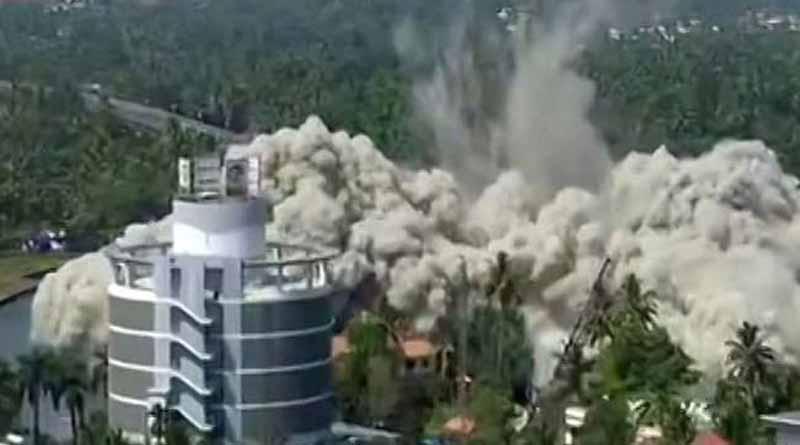 4 posh Kochi flat complexes to Be razed in mega demolition begins