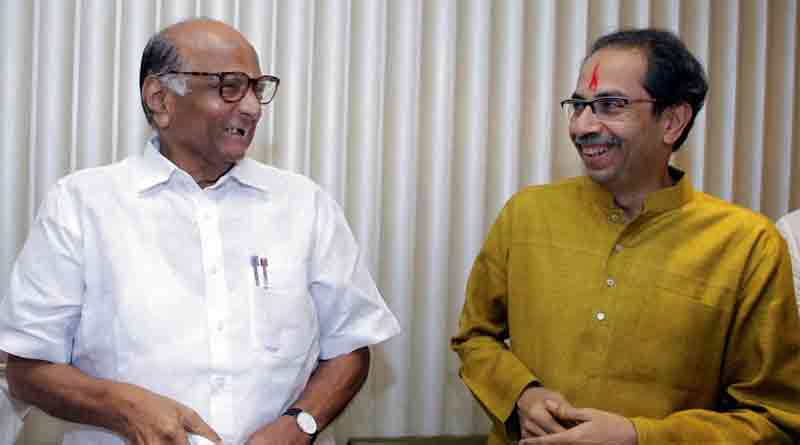 Smoke rising in Congress: Saamana spotlights on Thackeray cabinet