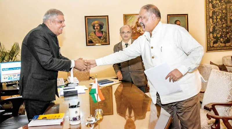 Governor-Principal Secretary meeting over Budget speech at Kolkata
