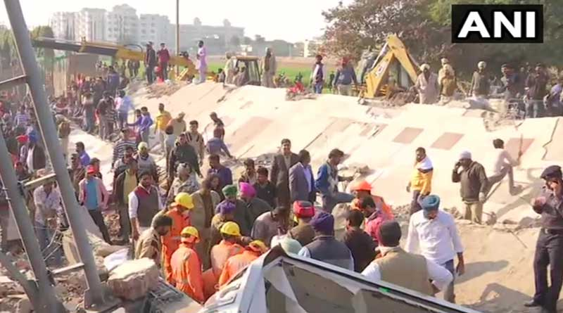 Building collapses as JCB was working at Mohali, 4-5 people trapped