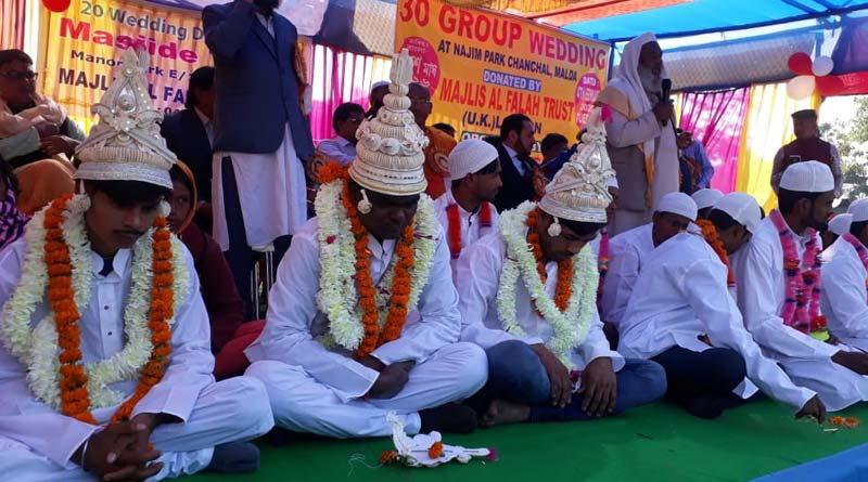 Maldah teaches religious tolerance, Hindu-Muslim wedding on same dias