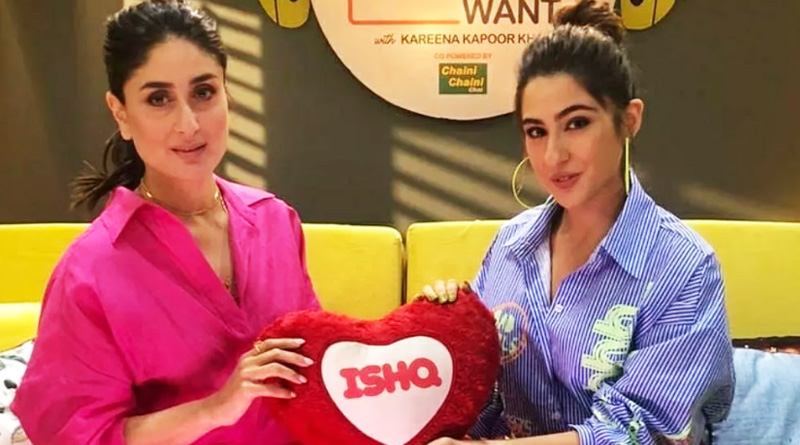 Sara Ali Khan and Kareena's candid conversation in Kareena's talk show