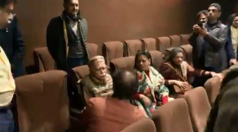BJP veteran leader LK Advani breaks down while watching Shikara.