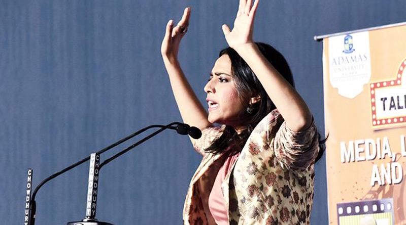 Once again Swara Bhasker slams Modi government at Book Fair