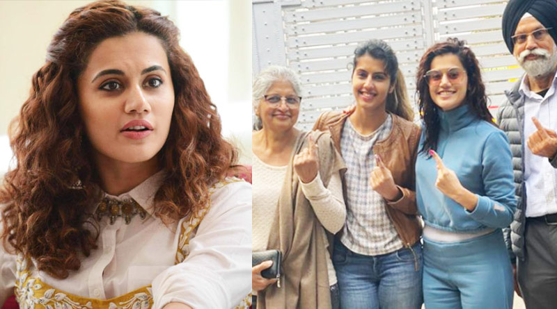 Tapsee Pannu slams netzen for question her voting right in Delhi