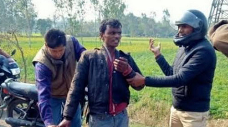 UP man severs wife's head, goes to police station, sings National Anthem