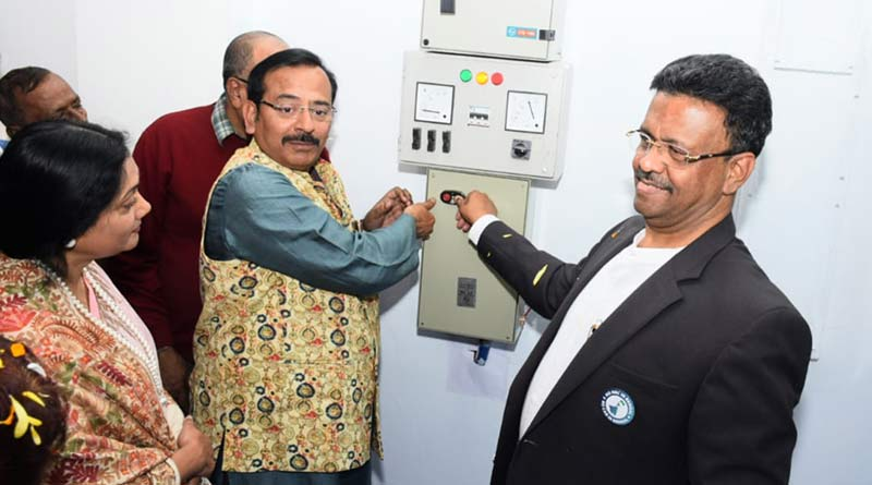 Mayor Firhad hakim inaugurated booster pumping station cum reservoir