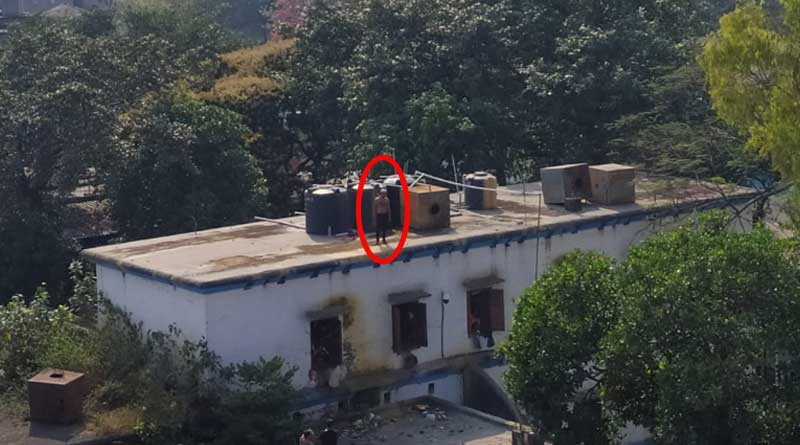 Prisoner in Howrah correctional home reaches at roof, couldn't be rescued yet