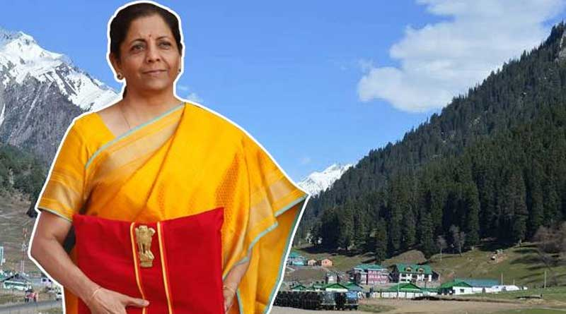 For Kashmir and Ladakh development union budget provide huge fund.