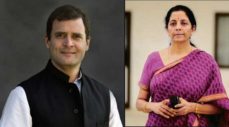 Sitharaman lashes out at Congress over migrant labourers