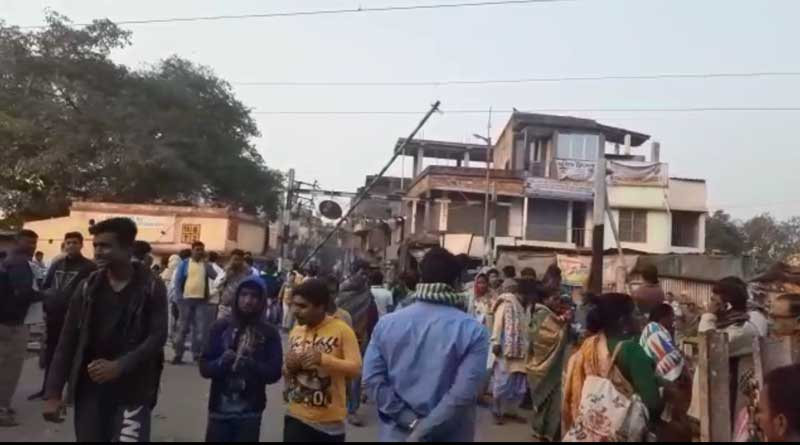 Train service disrupted in Sealdah South division due to an accident.