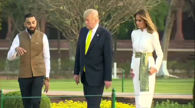 "Image result for ""Melania Trump Asked About Mud Pack Treatment"": Taj Mahal Tour Guide"