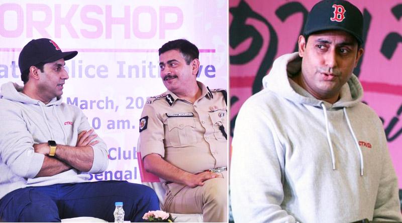 Amids of shooting Abhishek Bachchan joins Tejashwini closing program