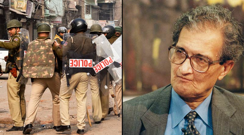 Amartya Sen is very tensed about the situation of Delhi