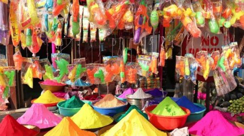 Colour is out of fashion, different Gulal is hot cake in Kolkata