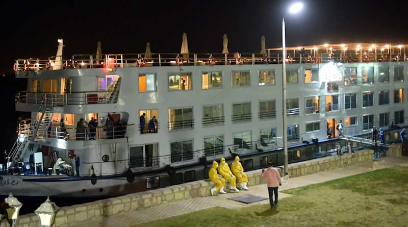 18 Indians quarantined on cruise ship in Egypt's Nile River amid Corona virus spreads out