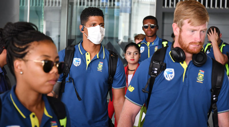 South Africa cricketers asked to be in self-isolate for 14 days