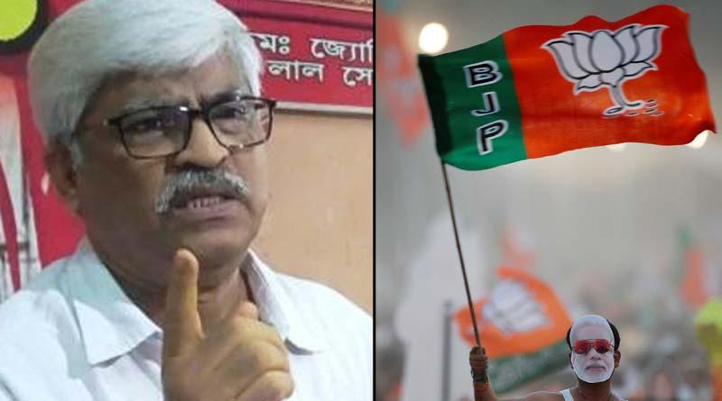 CPIM Leader Sujan Chakraborty says, Criminal's Party is BJP