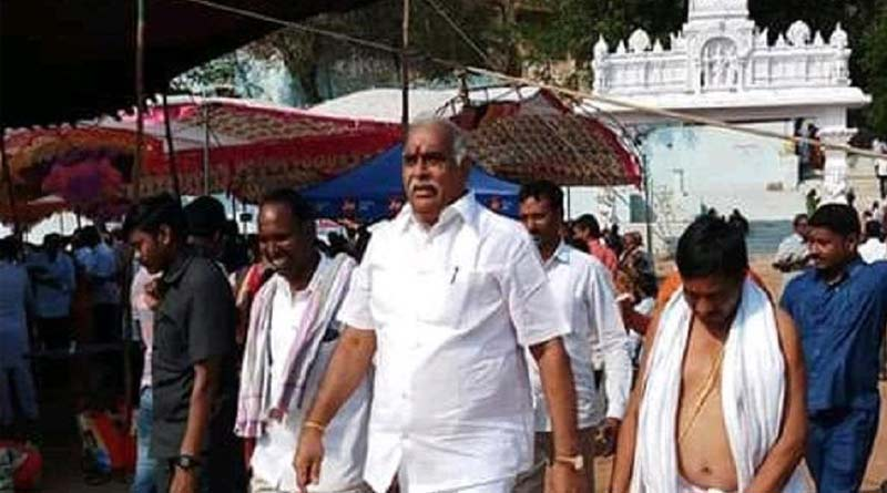 TRS MLA came from Foriegn and travell in Telangana Express