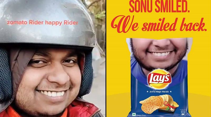 Zomato's viral delivery boy sonu is now on Lay's packet