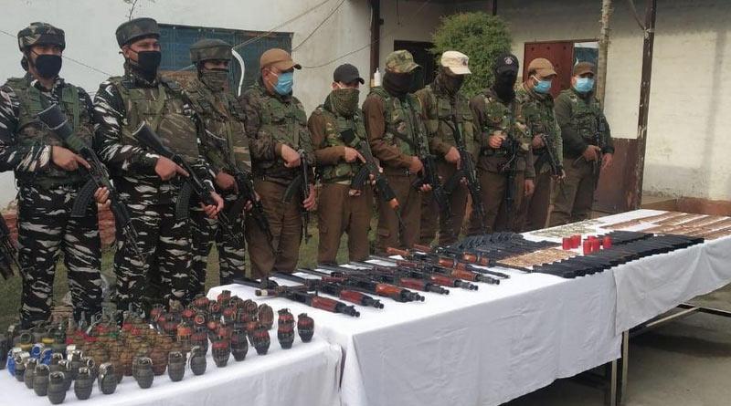 Five militant associates arrested in north Kashmir