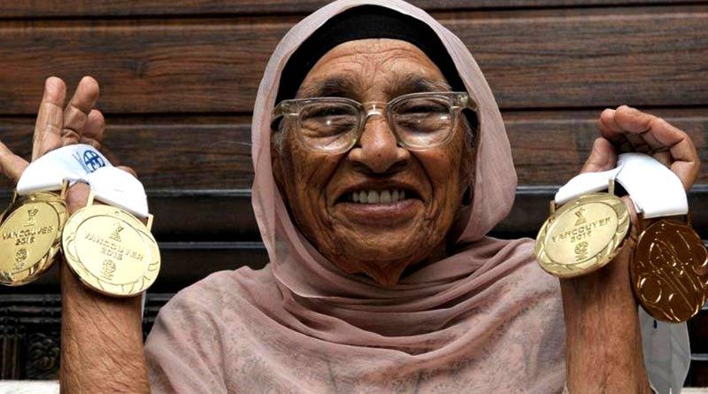 104 years old Man Kour got NariShakti award from president