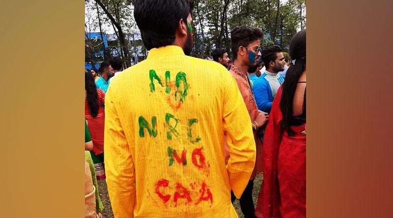 No NRC, No CAA protest in Ravindrabharati Dol Utsav