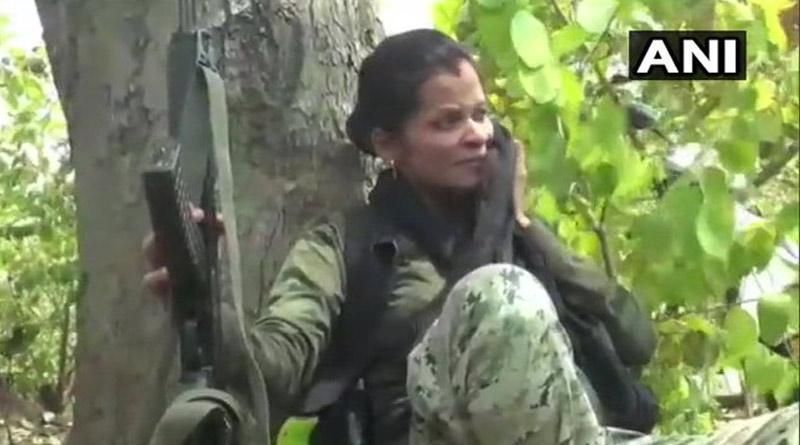 eight month pregnant commander sunaina patel fighting against naxals