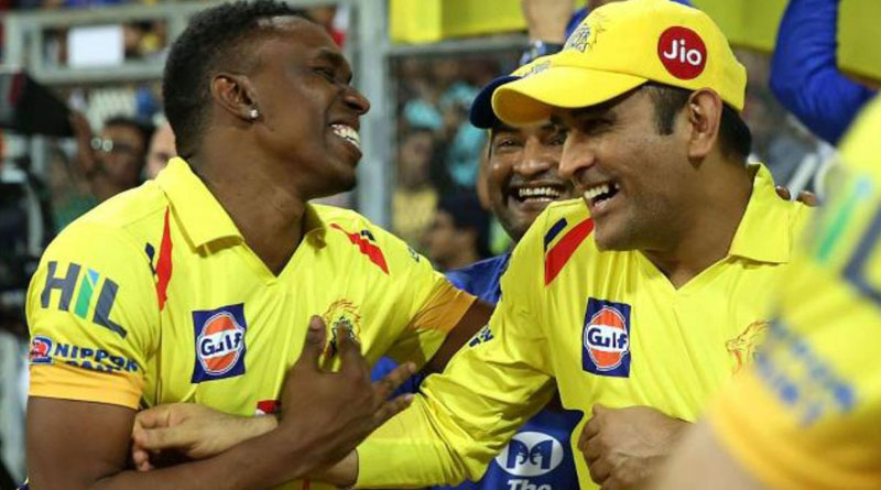 Dwayne Bravo releases new song on the eve of MS Dhoni's 39th birthday