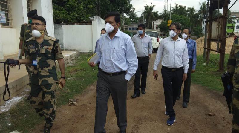 Central team visits East Midnapur's Corona hotspots