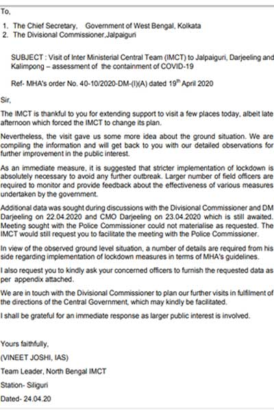 Letter to CS