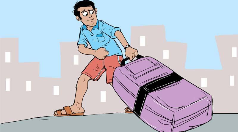 Mangaluru teenager takes friend to flat in suitcase amid lock down