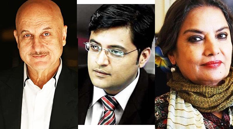 Anupam Kher, Shabana Azmi reacts on Arnab Goswami getting assaulted