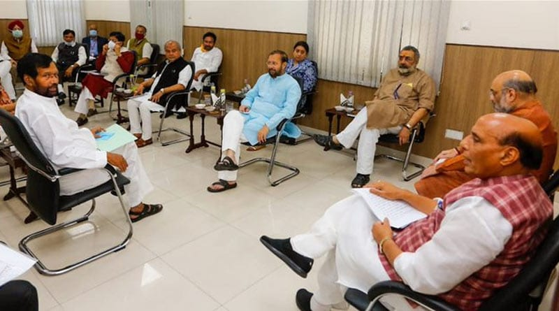 ministers meeting in lockdown extenstion