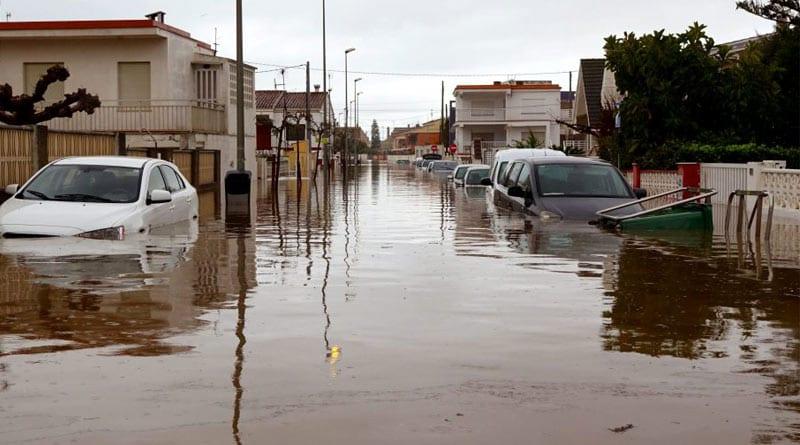 Heavy rain brings flooding to Spain's eastern province